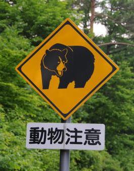 「標識 クマ」の画像検索結果